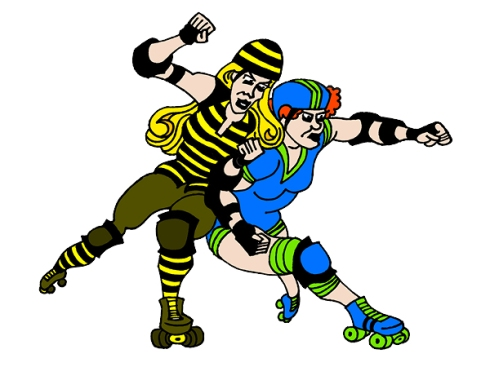 Roller Derby Babes - Final Colored