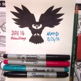 Day 16 Challenge: Drawsign an owl. Did it quick, but it worked!