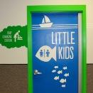 Sapora Playworld restroom door » vinyl decals