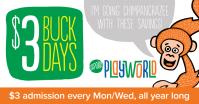 Sapora Playworld Facebook promotion graphic (2015)