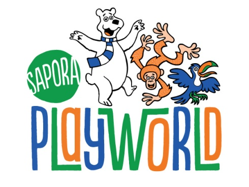 Sapora Playworld new logo (Rockford Park District, 2014)