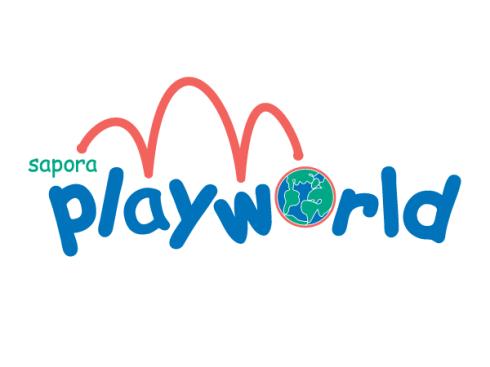 Old logo for Sapora Playworld
